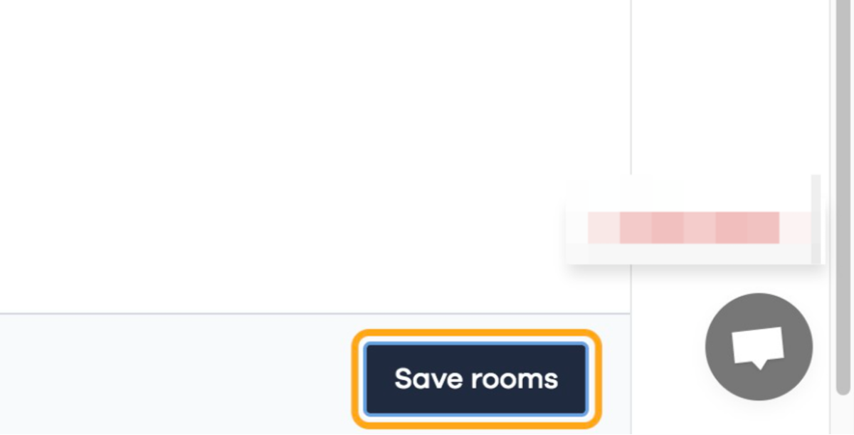 Click on Save rooms