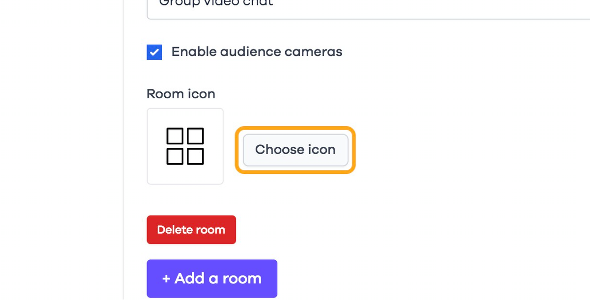 Click on Choose icon